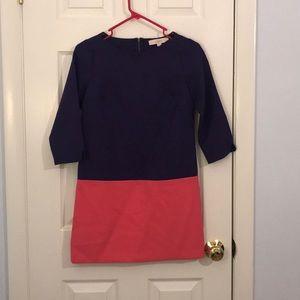 NWT Loft color block dress